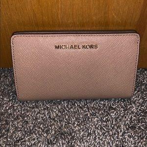 Michael Kors wallet dark khaki